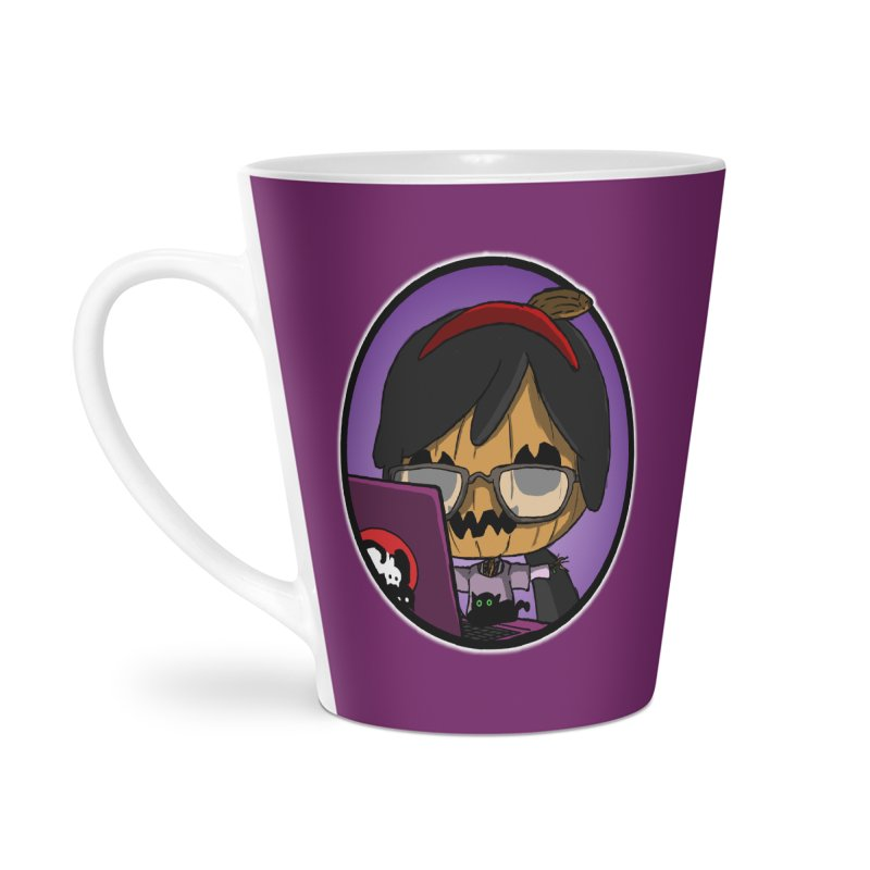 Halloweenie Accessories Latte Mug by danburley's Artist Shop