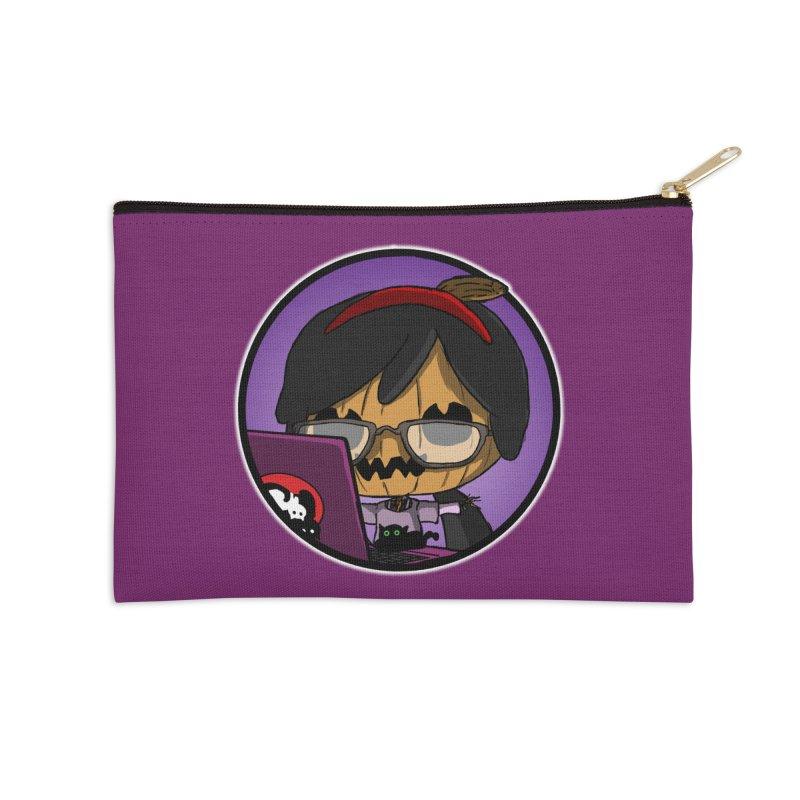 Halloweenie Accessories Zip Pouch by danburley's Artist Shop