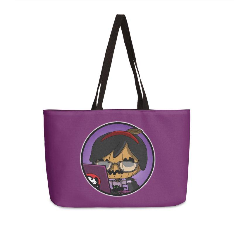 Halloweenie Accessories Weekender Bag Bag by danburley's Artist Shop