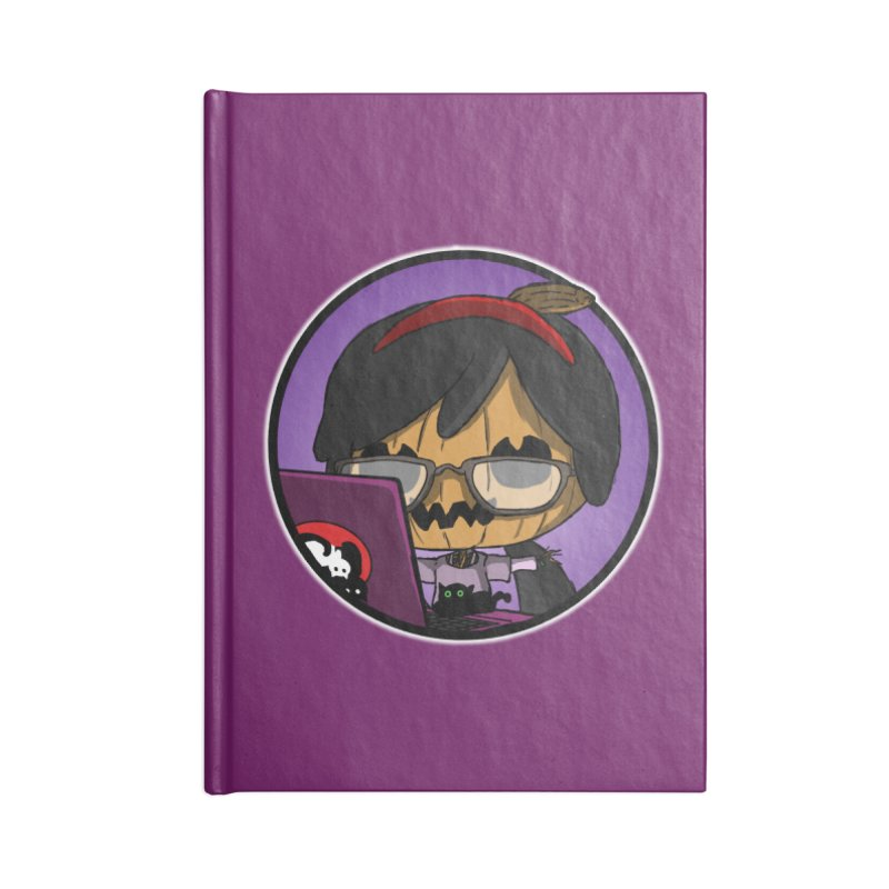 Halloweenie Accessories Lined Journal Notebook by danburley's Artist Shop
