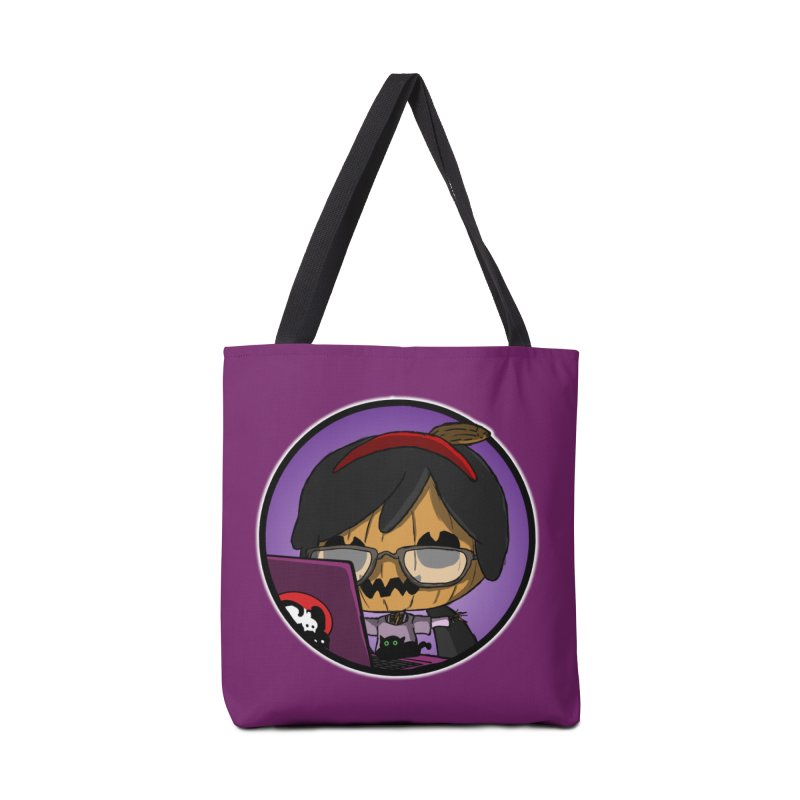 Halloweenie Accessories Tote Bag Bag by danburley's Artist Shop
