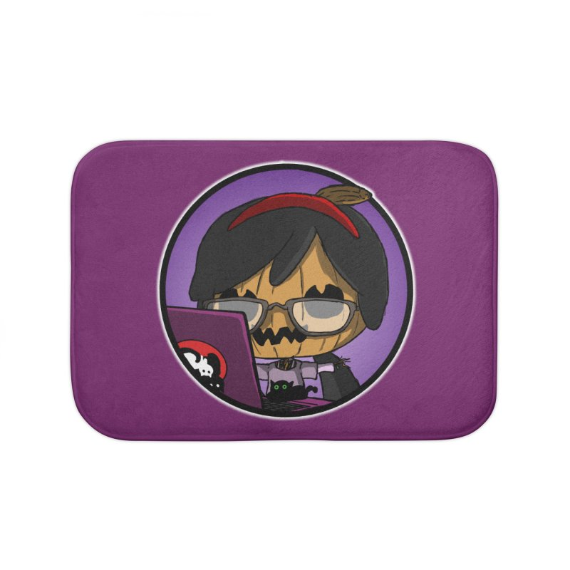 Halloweenie Home Bath Mat by danburley's Artist Shop
