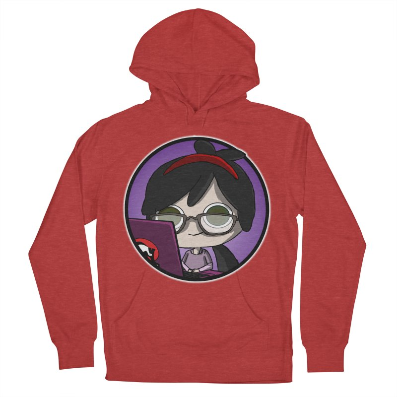 Blogging, man! Men's French Terry Pullover Hoody by danburley's Artist Shop