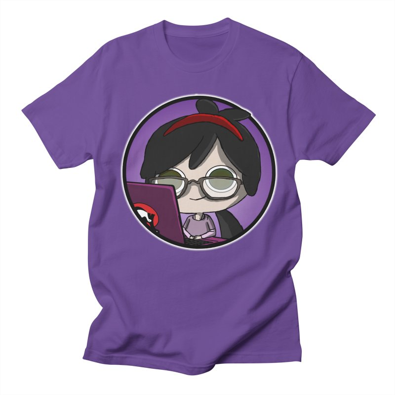 Blogging, man! Men's Regular T-Shirt by danburley's Artist Shop