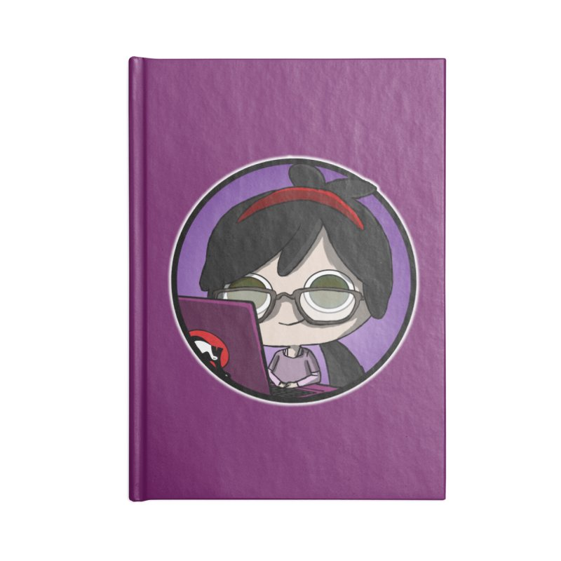 Blogging, man! Accessories Lined Journal Notebook by danburley's Artist Shop