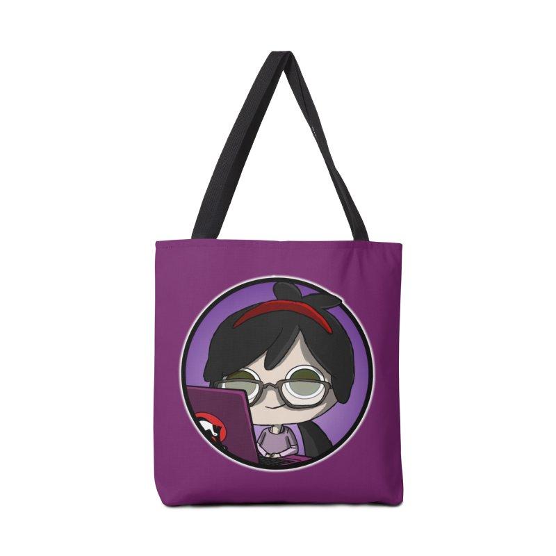 Blogging, man! Accessories Bag by danburley's Artist Shop