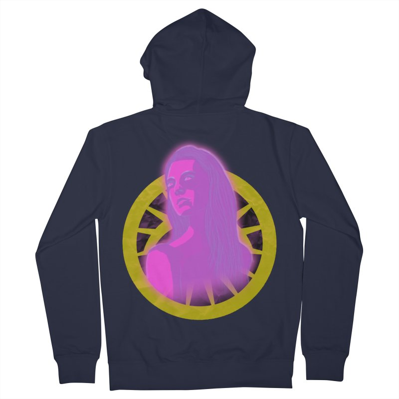 Robyn Ackerman (Nightmare) Men's French Terry Zip-Up Hoody by danburley's Artist Shop