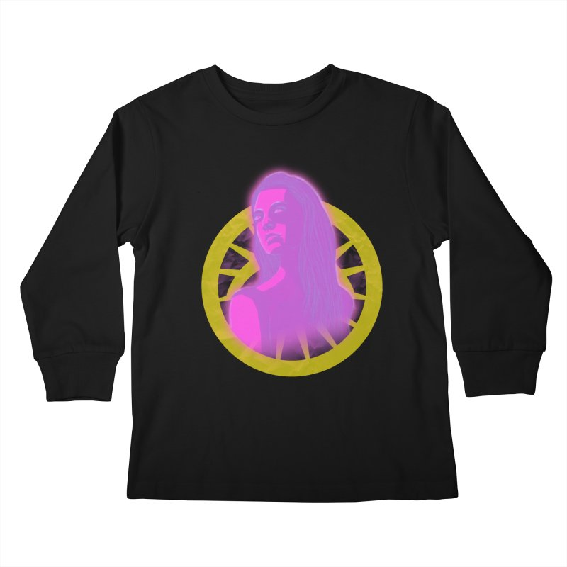 Robyn Ackerman (Nightmare) Kids Longsleeve T-Shirt by danburley's Artist Shop
