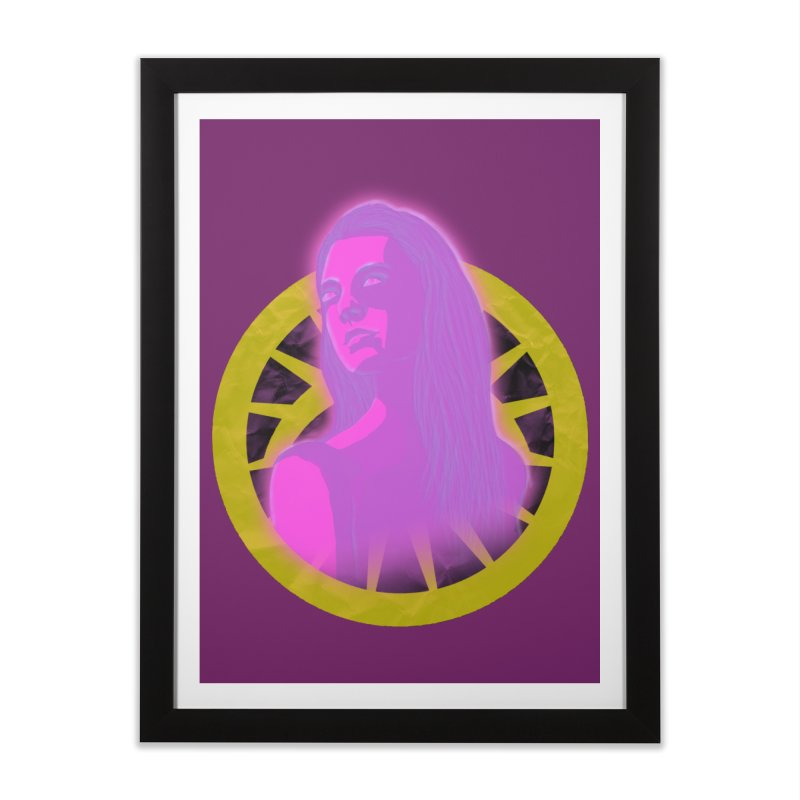 Robyn Ackerman (Nightmare) Home Framed Fine Art Print by danburley's Artist Shop