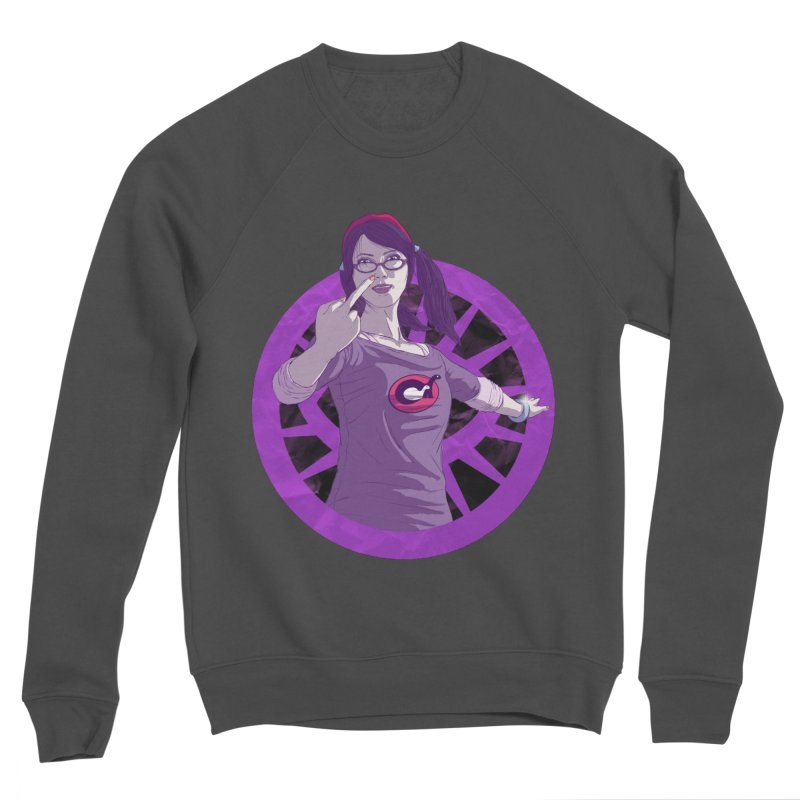 Elizabeth Harper (Teenage Female) Women's Sponge Fleece Sweatshirt by danburley's Artist Shop