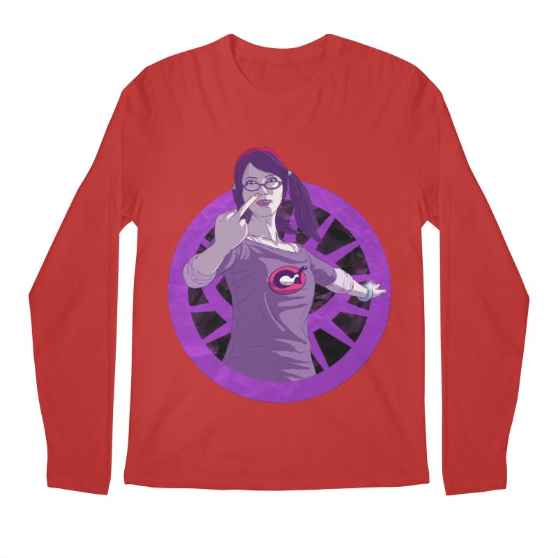 Elizabeth Harper (Teenage Female) Men's Regular Longsleeve T-Shirt by danburley's Artist Shop