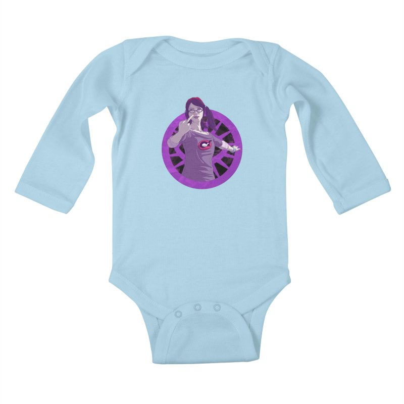 Elizabeth Harper (Teenage Female) Kids Baby Longsleeve Bodysuit by danburley's Artist Shop