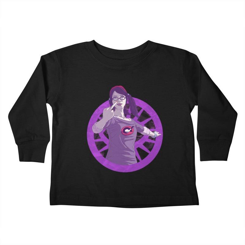 Elizabeth Harper (Teenage Female) Kids Toddler Longsleeve T-Shirt by danburley's Artist Shop