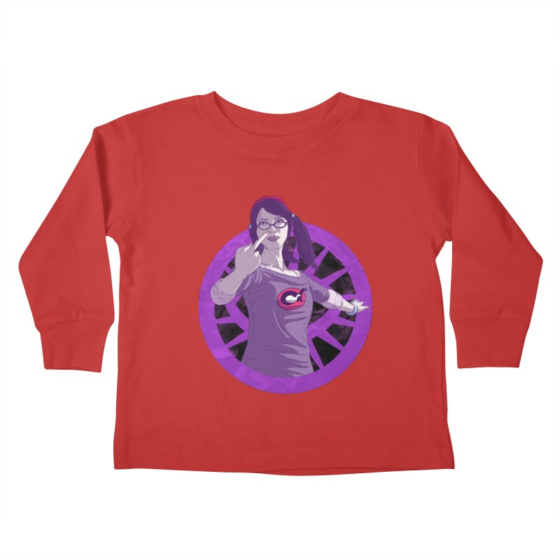 Elizabeth Harper (Teenage Female) Kids Toddler Longsleeve T-Shirt by danburley's Artist Shop