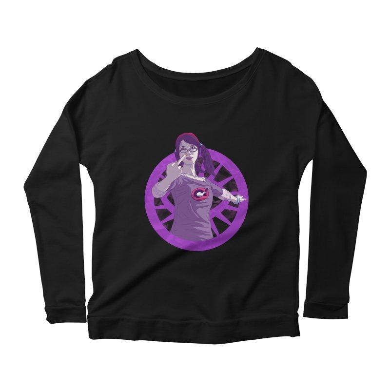 Elizabeth Harper (Teenage Female) Women's Scoop Neck Longsleeve T-Shirt by danburley's Artist Shop