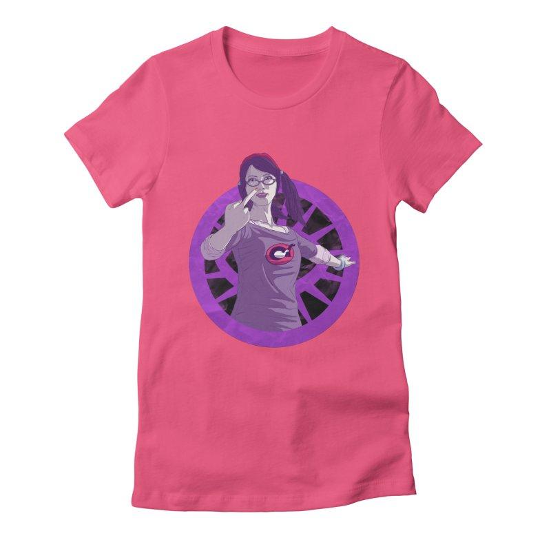 Elizabeth Harper (Teenage Female) Women's Fitted T-Shirt by danburley's Artist Shop