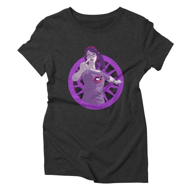 Elizabeth Harper (Teenage Female) Women's Triblend T-Shirt by danburley's Artist Shop