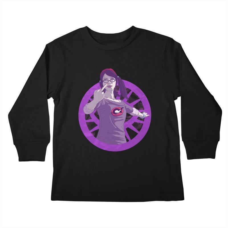 Elizabeth Harper (Teenage Female) Kids Longsleeve T-Shirt by danburley's Artist Shop