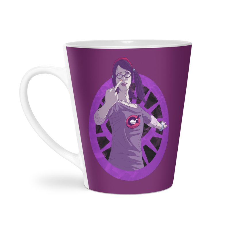 Elizabeth Harper (Teenage Female) Accessories Latte Mug by danburley's Artist Shop