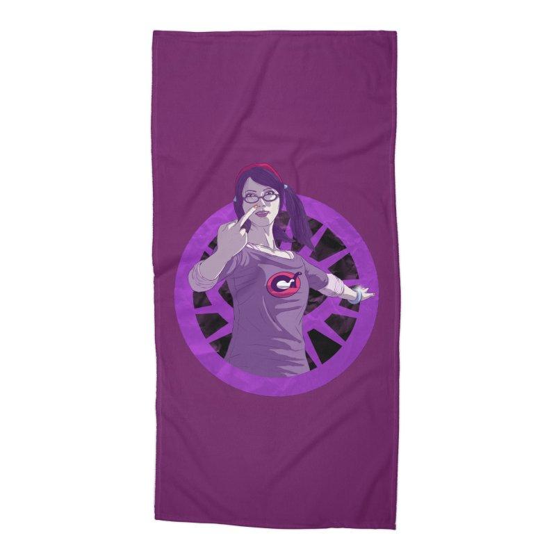 Elizabeth Harper (Teenage Female) Accessories Beach Towel by danburley's Artist Shop