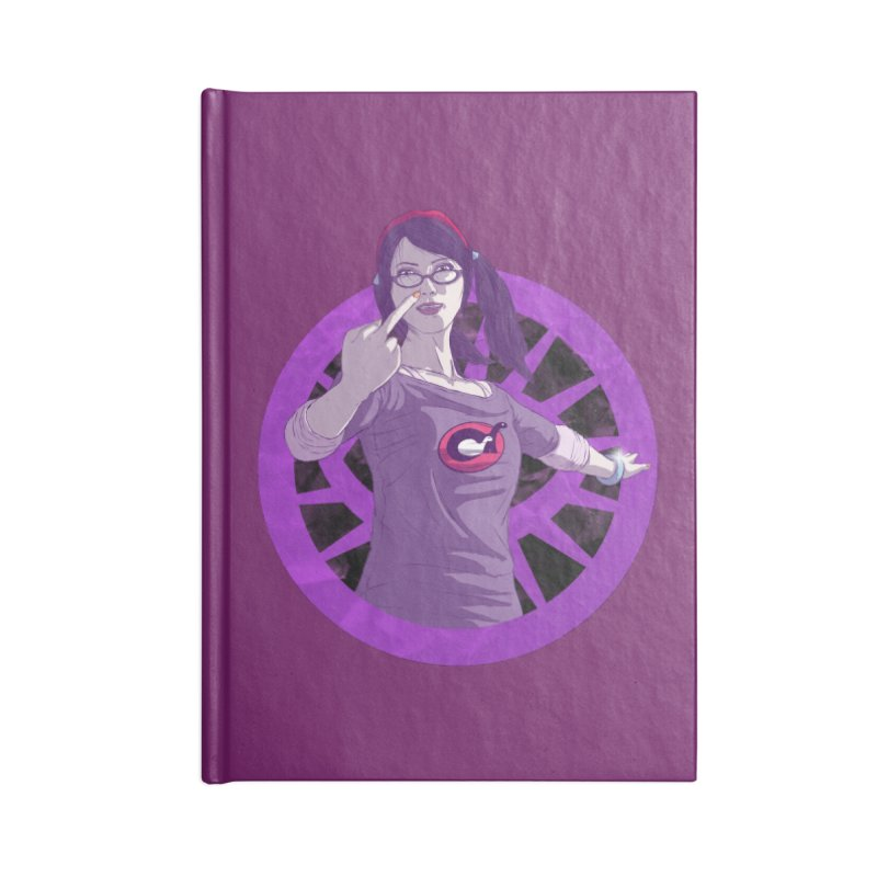Elizabeth Harper (Teenage Female) Accessories Blank Journal Notebook by danburley's Artist Shop