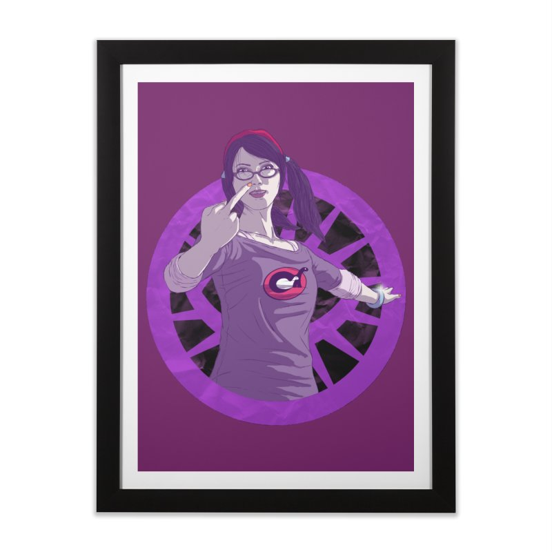 Elizabeth Harper (Teenage Female) Home Framed Fine Art Print by danburley's Artist Shop