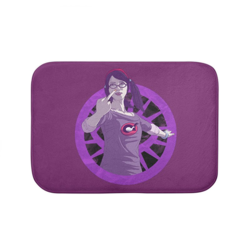 Elizabeth Harper (Teenage Female) Home Bath Mat by danburley's Artist Shop