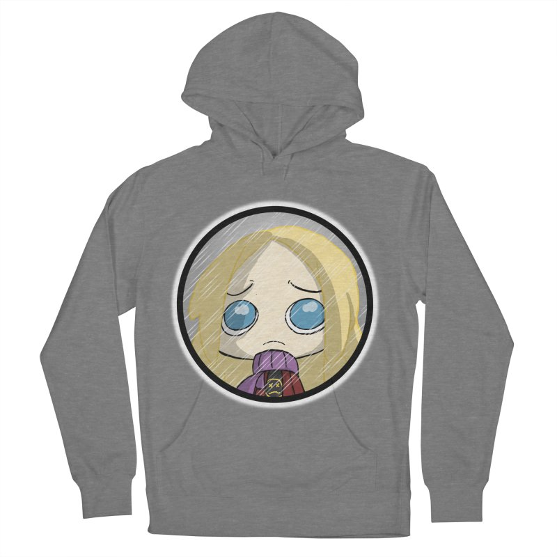Robyn (Reaching Out) Women's French Terry Pullover Hoody by danburley's Artist Shop