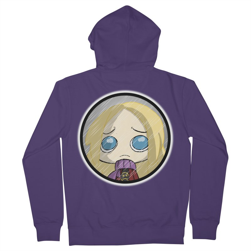 Robyn (Reaching Out) Women's French Terry Zip-Up Hoody by danburley's Artist Shop