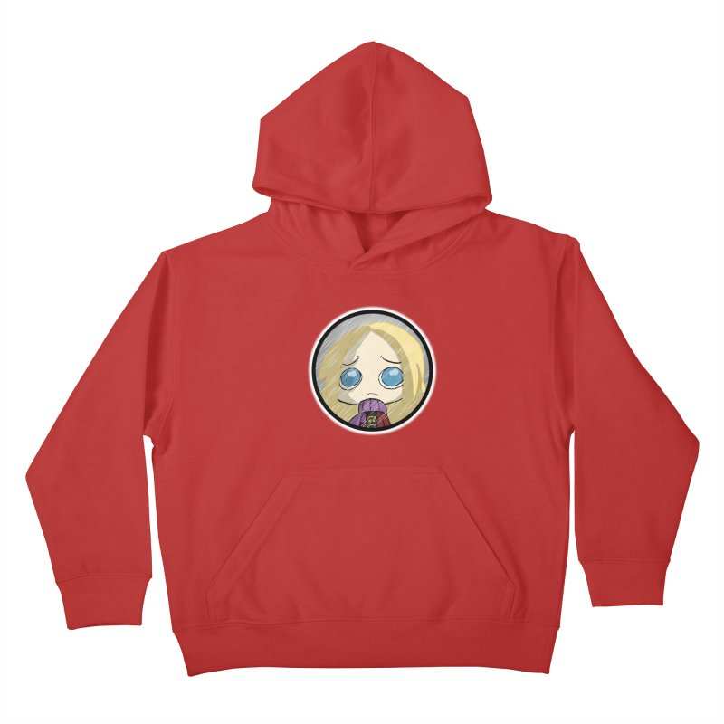 Robyn (Reaching Out) Kids Pullover Hoody by danburley's Artist Shop