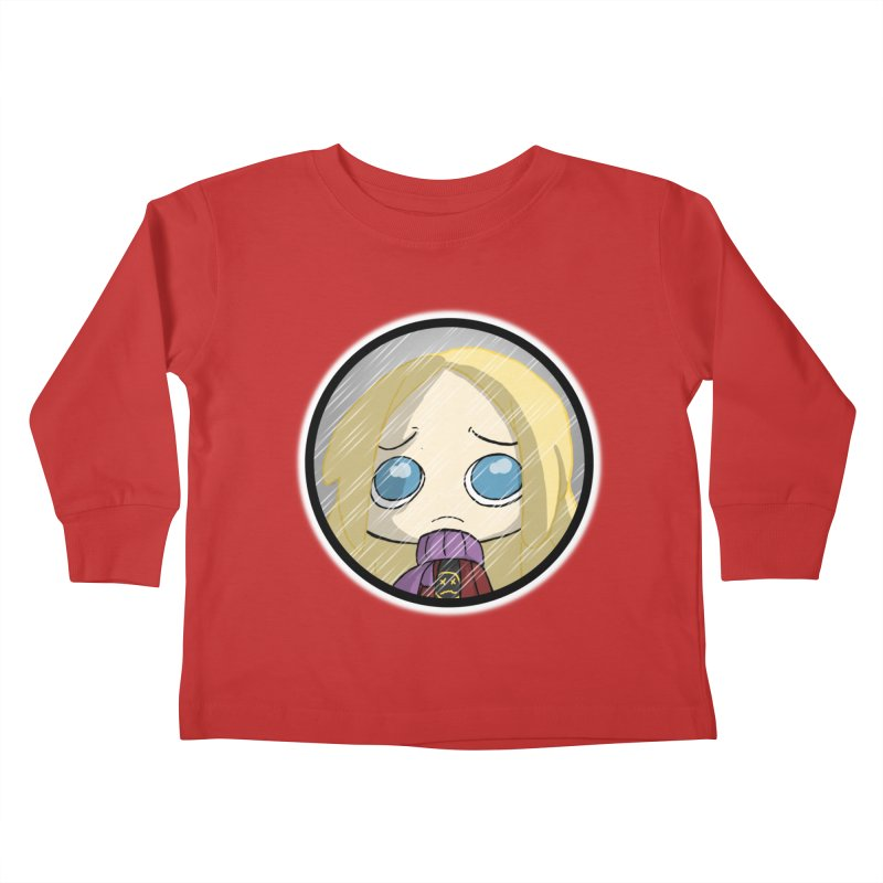 Robyn (Reaching Out) Kids Toddler Longsleeve T-Shirt by danburley's Artist Shop