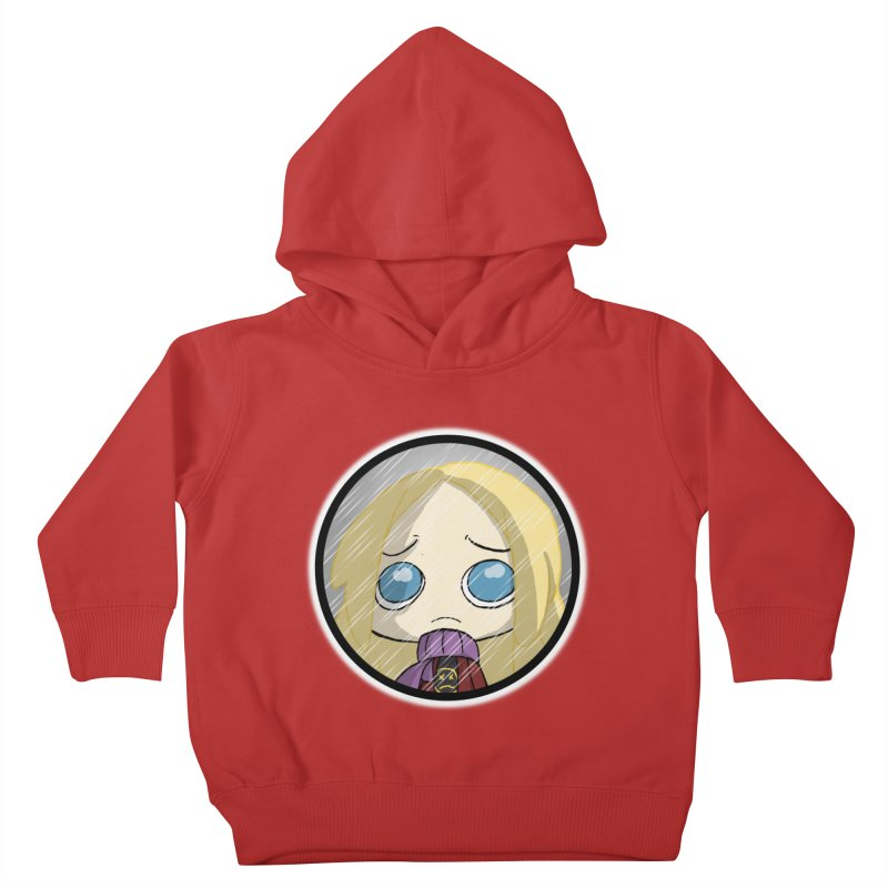 Robyn (Reaching Out) Kids Toddler Pullover Hoody by danburley's Artist Shop