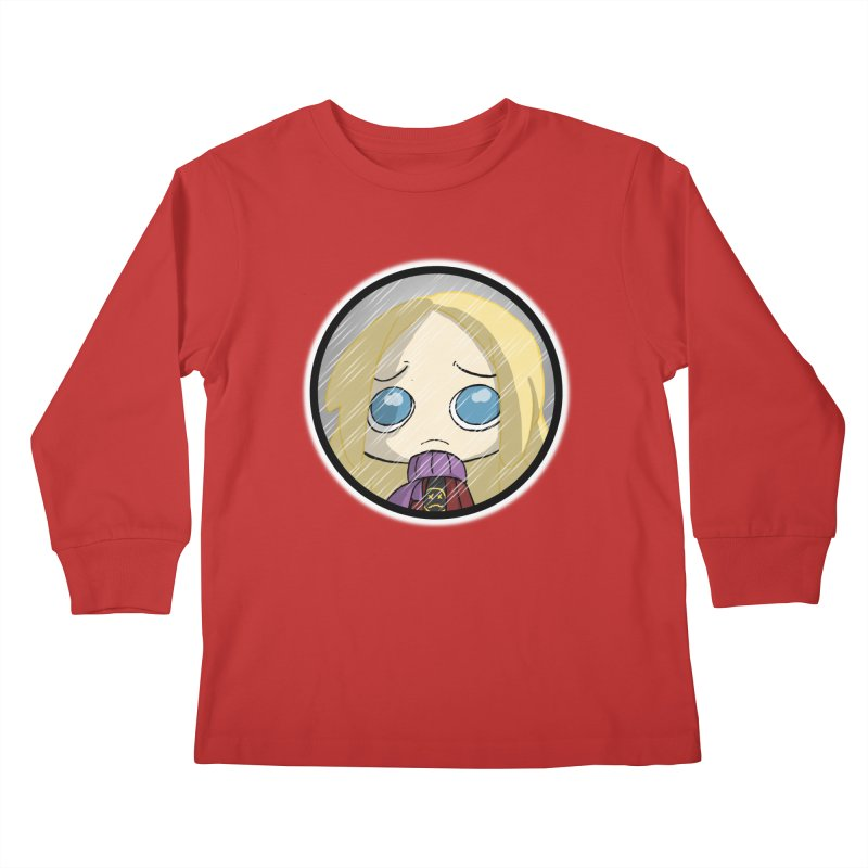 Robyn (Reaching Out) Kids Longsleeve T-Shirt by danburley's Artist Shop