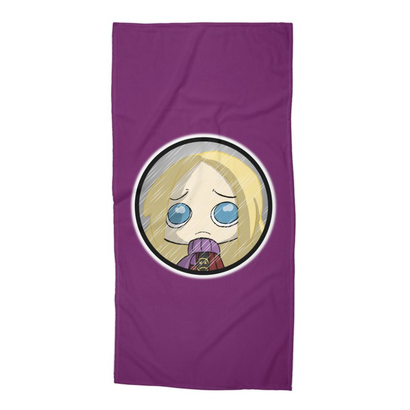 Robyn (Reaching Out) Accessories Beach Towel by danburley's Artist Shop