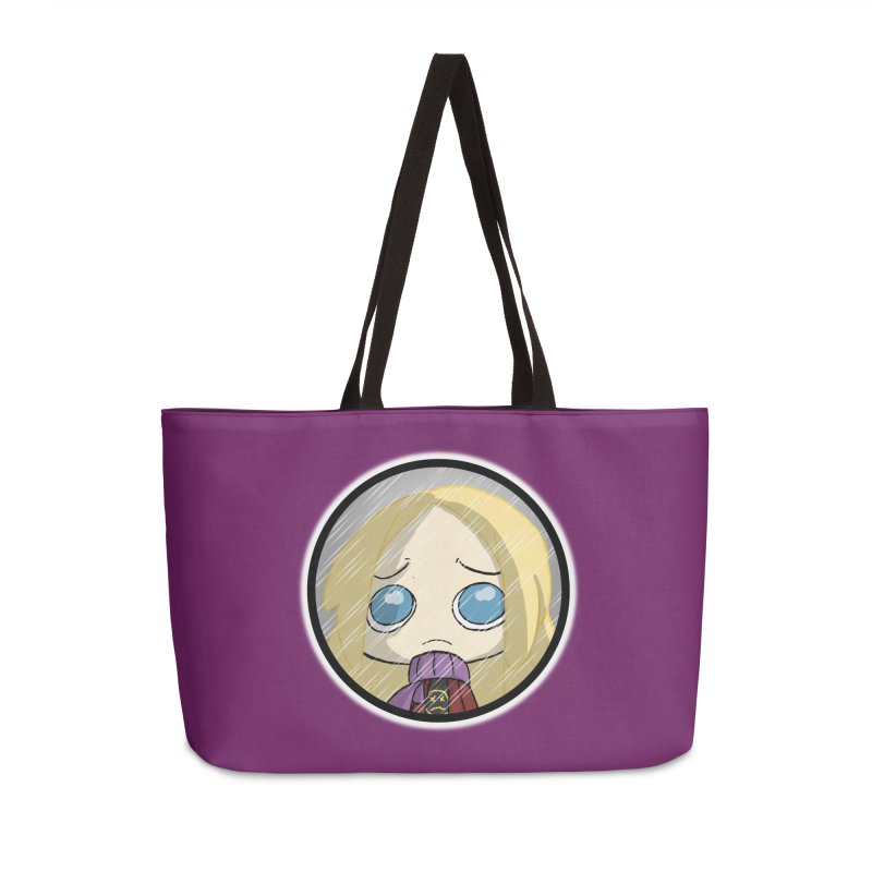 Robyn (Reaching Out) Accessories Weekender Bag Bag by danburley's Artist Shop