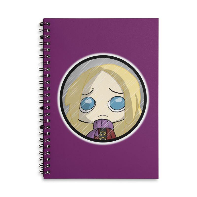 Robyn (Reaching Out) Accessories Lined Spiral Notebook by danburley's Artist Shop