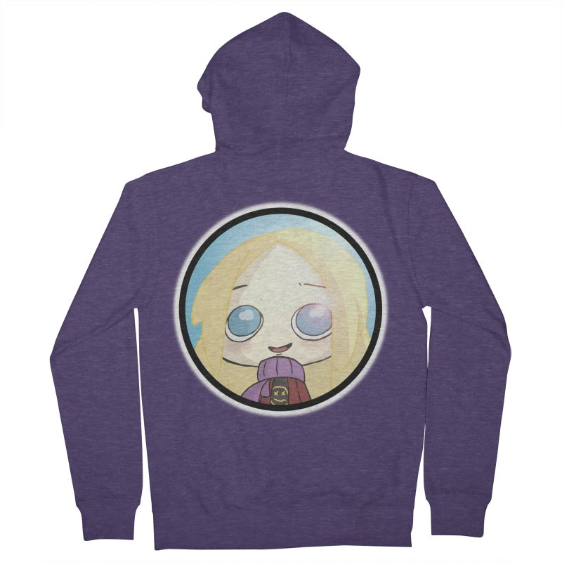 Robyn (Another Chance) Men's French Terry Zip-Up Hoody by danburley's Artist Shop