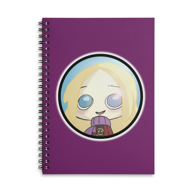 Robyn (Another Chance) Accessories Lined Spiral Notebook by danburley's Artist Shop