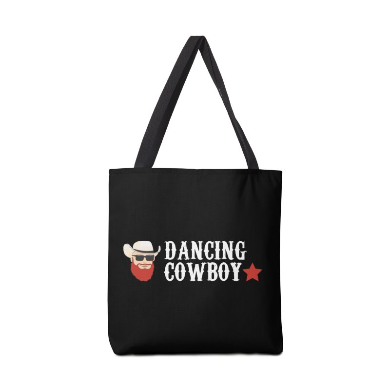 Dancing Cowboy Logo in Tote Bag by Dancing Cowboy Gear