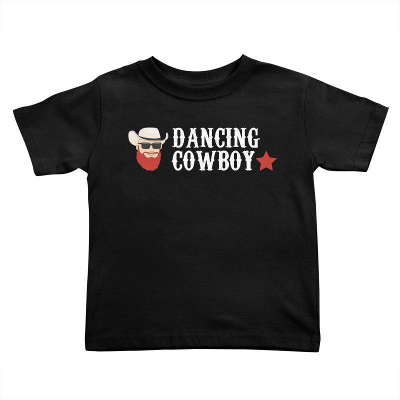 Dancing Cowboy Logo Kids Toddler T-Shirt by Dancing Cowboy Gear