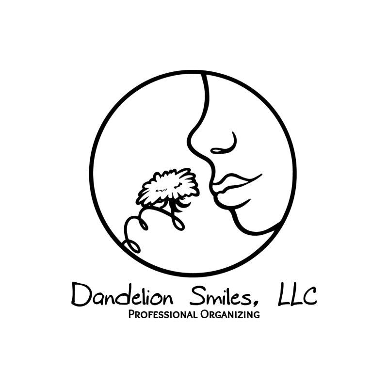 Dandelion Smiles, LLC Basic Logo in Black Men's T-Shirt by Dandelion Smiles, LLC