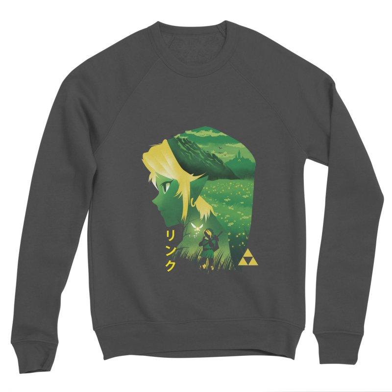 Hyrule Hero Men's Sponge Fleece Sweatshirt by dandingeroz's Artist Shop