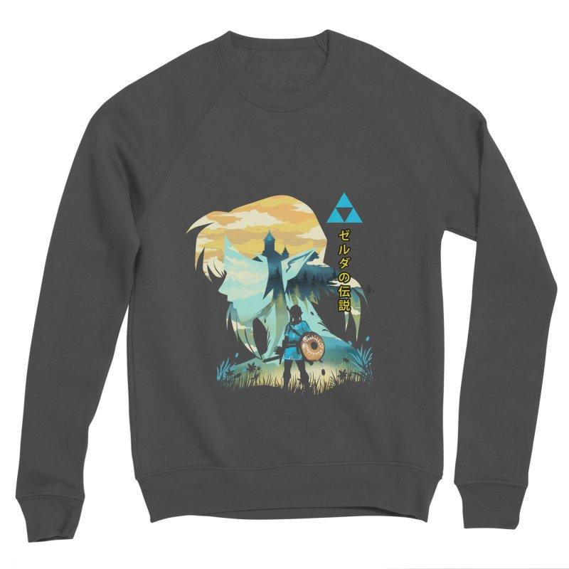 Wild Hero Men's Sponge Fleece Sweatshirt by dandingeroz's Artist Shop