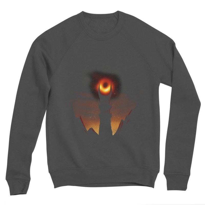 Blackhole Sauron Men's Sponge Fleece Sweatshirt by dandingeroz's Artist Shop