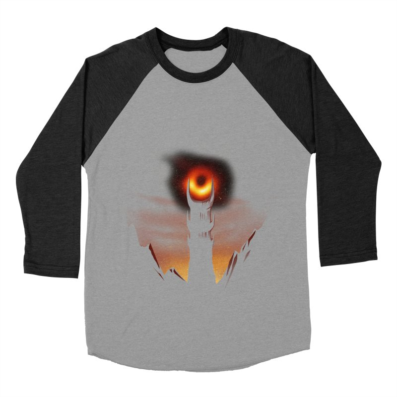Blackhole Sauron Men's Baseball Triblend Longsleeve T-Shirt by dandingeroz's Artist Shop