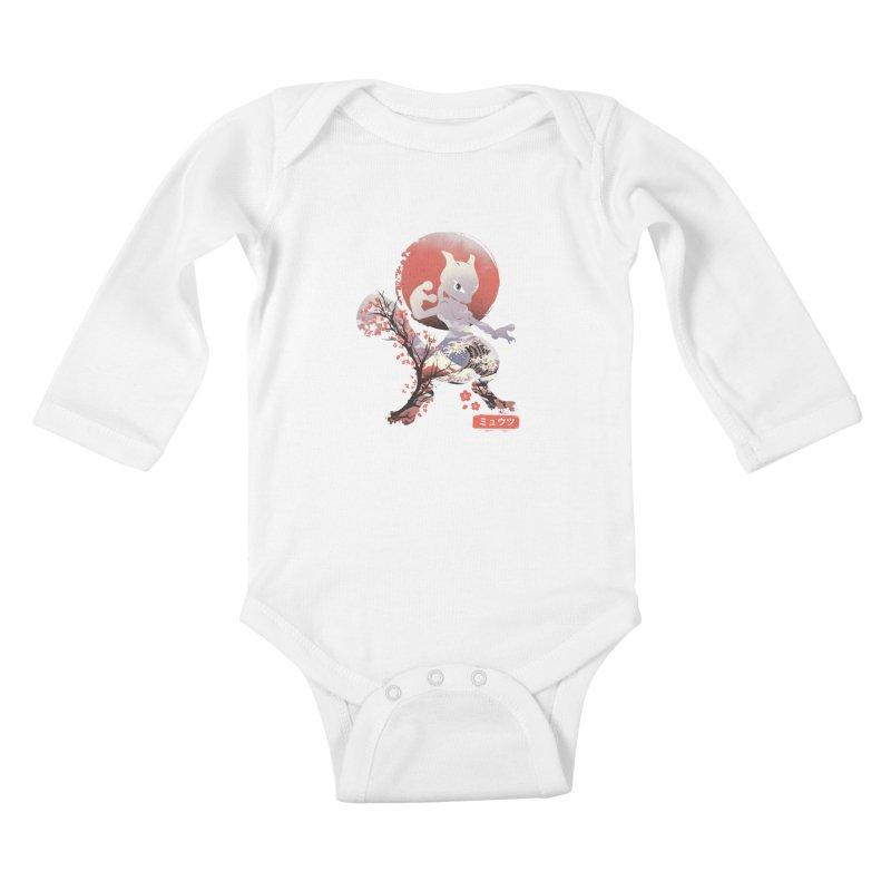 Psychic Ninja Kids Baby Longsleeve Bodysuit by dandingeroz's Artist Shop