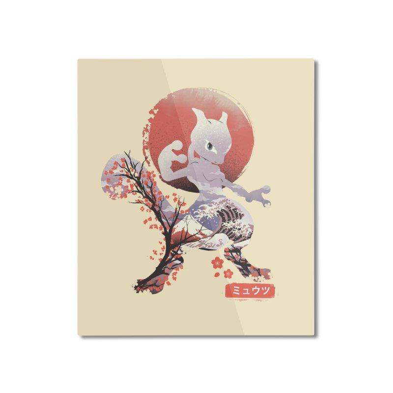 Psychic Ninja Home Mounted Aluminum Print by dandingeroz's Artist Shop