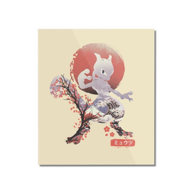 Psychic Ninja Home Mounted Acrylic Print by dandingeroz's Artist Shop