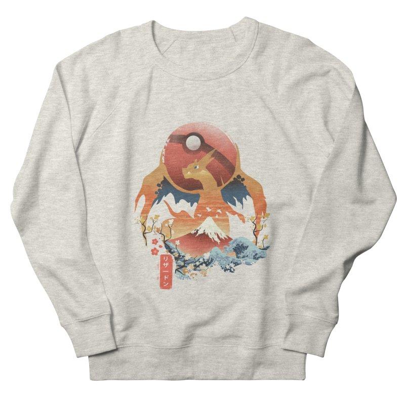 Flame Ninja Men's French Terry Sweatshirt by dandingeroz's Artist Shop