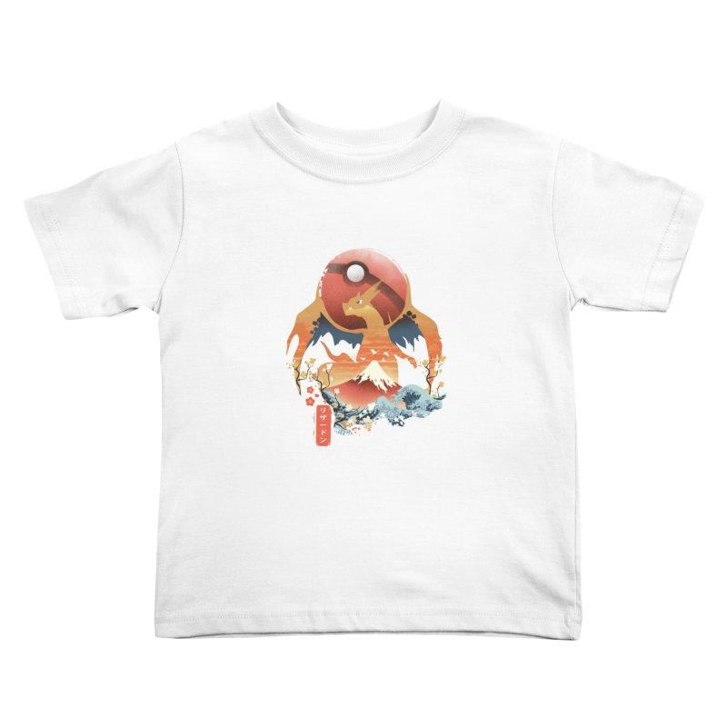 Flame Ninja Kids Toddler T-Shirt by dandingeroz's Artist Shop